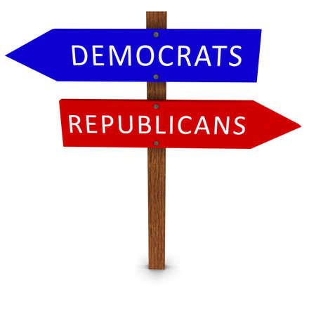 US Politics Election Sign Imagens - 36930686