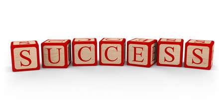 alphabet blocks: Success Alphabet Blocks