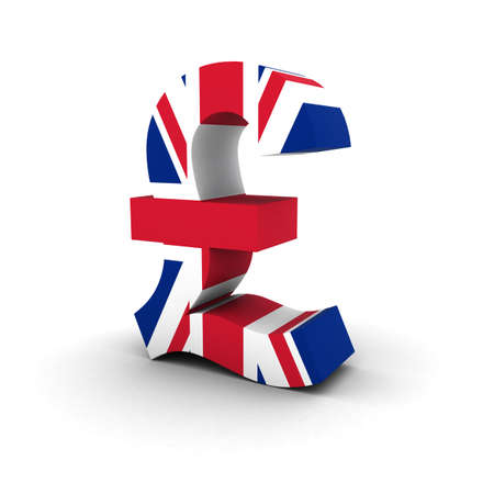UK Flag Pound Symbol