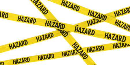 hazard tape: Yellow and Black HAZARD Tape Background