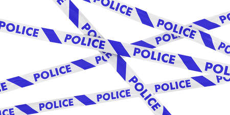police tape: Blue and White Police Tape Background