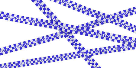 police tape: Blue and White Checkered Police Tape Background