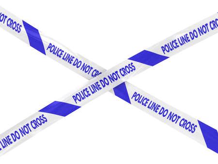 do not cross: Striped Police Line Do Not Cross Tape Cross
