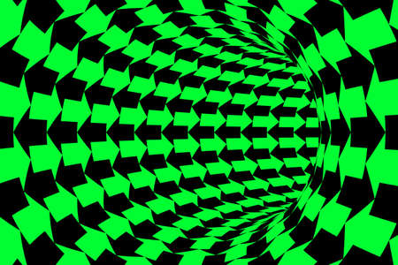 two way: Two Way Communication Concept - Green and Black Arrows Tunnel Background