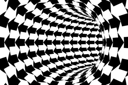 two way: Two Way Communication Concept - Black and White Arrows Tunnel Background