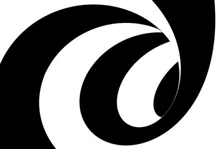 swirling: Black and White Swirling Lines Tunnel Abstract Background