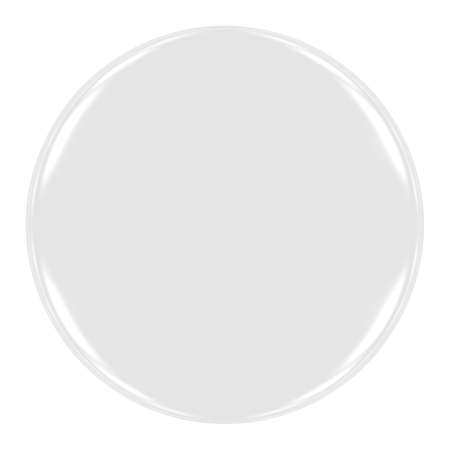 plain button: Blank White Badge Isolated on White Stock Photo