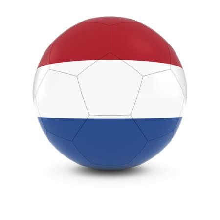 dutch flag: Netherlands Football - Dutch Flag on Soccer Ball