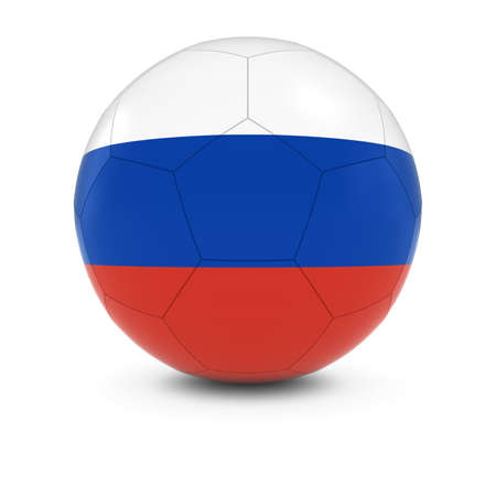 russian flag: Russia Football - Russian Flag on Soccer Ball