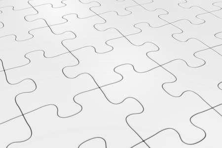 white background: White Jigsaw Puzzle Background Stock Photo
