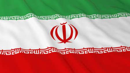 iranian: Iranian Flag HD Background - Flag of Iran 3D Illustration Stock Photo