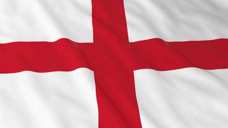 drapeau anglais: English Flag HD Fond - Drapeau de l'Angleterre 3D Illustration