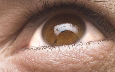 eye close up natural color