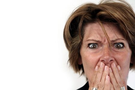 woman scared Stock Photo - 242175