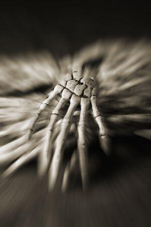 skeleton hands Reklamní fotografie