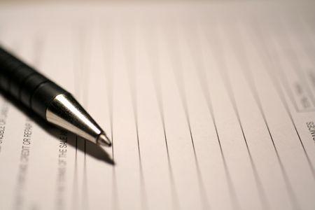 ballpoint pen Reklamní fotografie