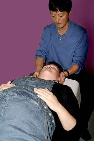 chiropractic adjustment Stock Photo - 293664