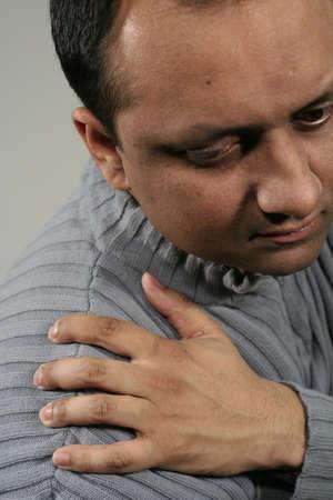 douleur epaule: Douleur �paule  Banque d'images
