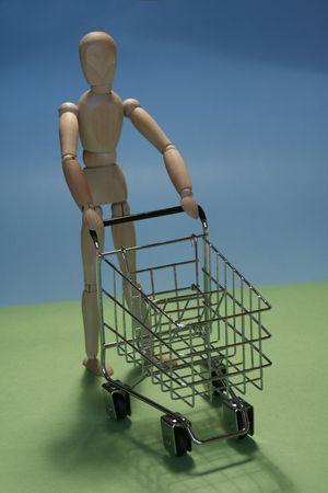 shoppingcart: shoppingcart Stock Photo