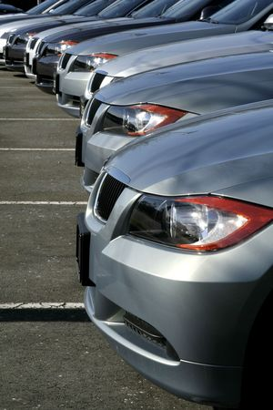 dealership grey cars