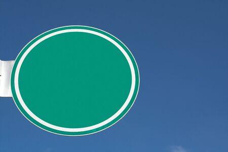 녹색 거리 표지판 스톡 콘텐츠