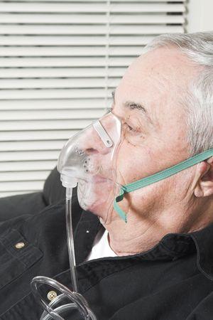 necessary: oxygen mask on senior