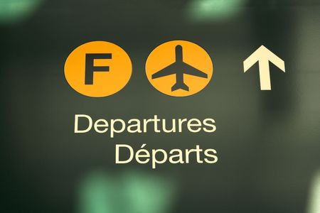 embark: airport sign information
