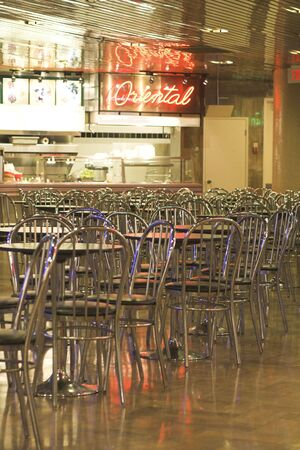 food court: food court in mall