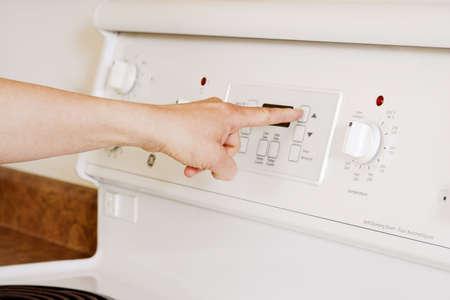 hand crank: pulsando sobre el bot�n horno