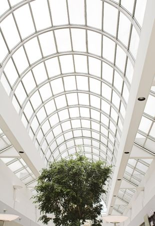 roof top with day light in mall