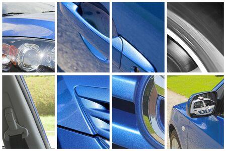 car body parts 스톡 콘텐츠