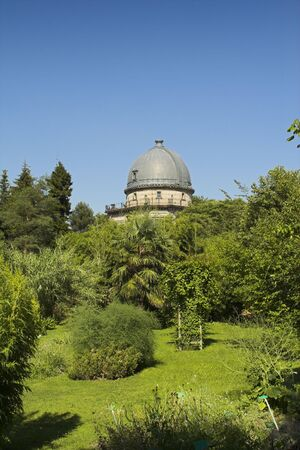 tranquille: botanic garden strasbourg Stock Photo