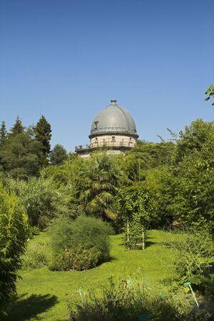 botanic garden strasbourg Stock Photo