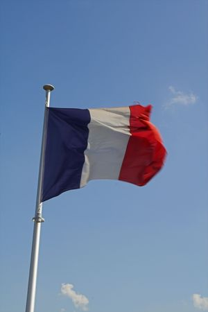 french flag Stock Photo
