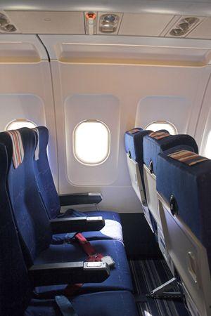 cheapest: airplane interior