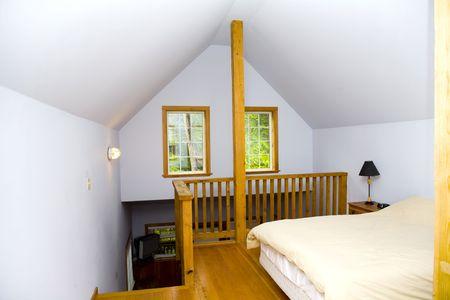 indoor shot: disparos en interiores de cabina dormitorio y ventanas