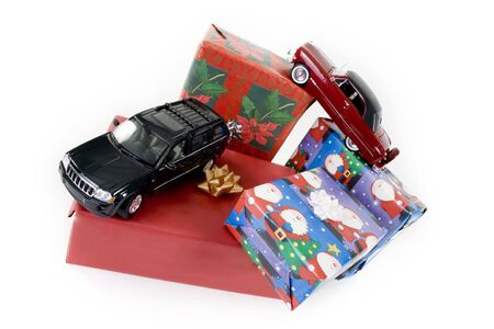 collectible: close up of collectible car over white background