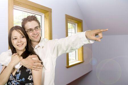 indoor shot in cabin of bedroom and windows photo