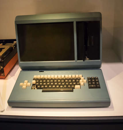 personal computers: One of the first personal computers. This from the early years.