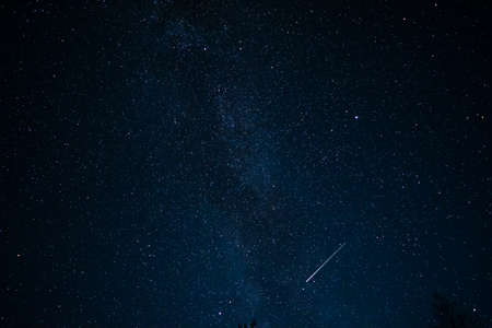 astroimage: Sky full of stars. Taken in the middle of night, Milkyway.