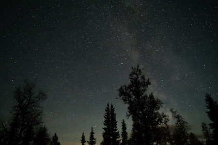 Sky full of stars. Taken in the middle of night, Milkyway.
