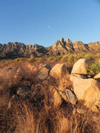 Organ Mountains Recreation Area in Las Cruces New Mexico Stock Photo