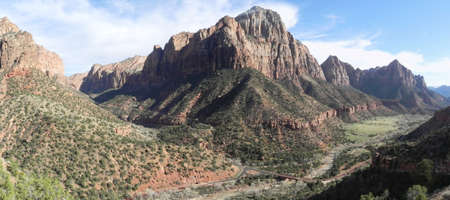 Zion Canyon in Zion National Park in Utah photo