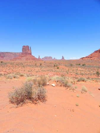 tribal park: Monument Valley Navajo Tribal Park in Arizona Stock Photo