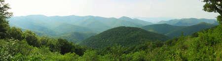 Appalachian Mountains in Shenandoah National Park in Virginia Stock Photo - 9424265