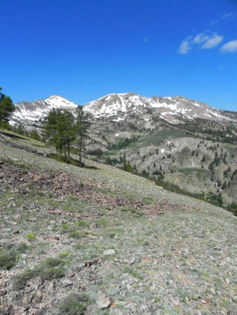 sawtooth national forest: Soldier Mountains in the Sawtooth National Forest in Idaho Stock Photo
