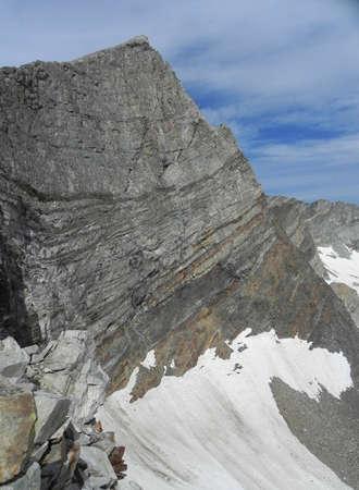 pioneer: Hyndman Peak in Pioneer Mountains in Idaho