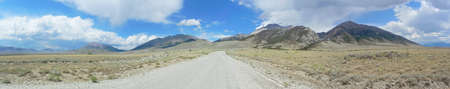 challis: Lost River Mountains in Idaho