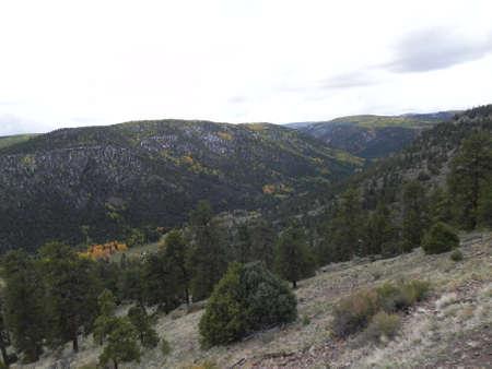 Valley along Cumbres & Toltec Railroad photo
