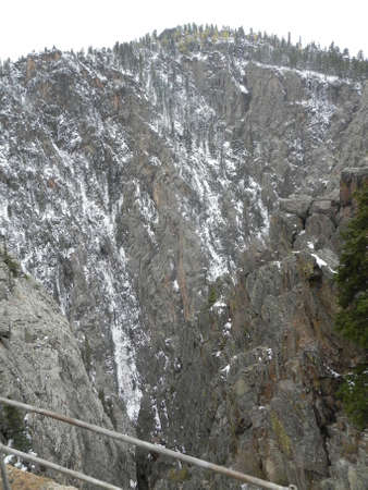 Toltec Gorge along Cumbres & Toltec Railroad photo